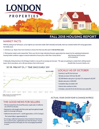 2018 Fall Housing Report